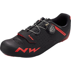 Northwave Core Plus Scarpe Uomo, black/red